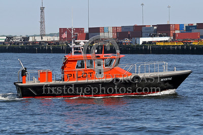 Pilot Boat 'Mystic' Near Black Falcon Terminal - Boston's Inner Harbor - July 28,2006