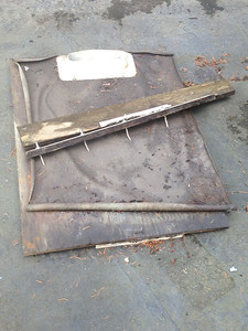 ROTTED BASE TO STEERING CONSOLE