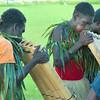 Bougainville bamboo band