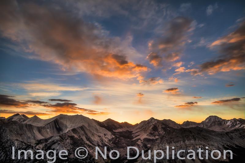 White Cloud sunrise