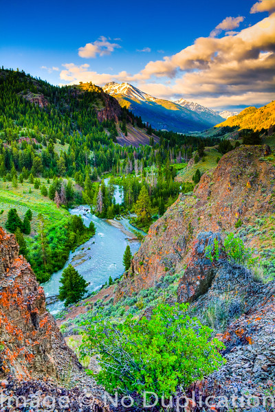 East Fork of the Salmon River, Idaho
