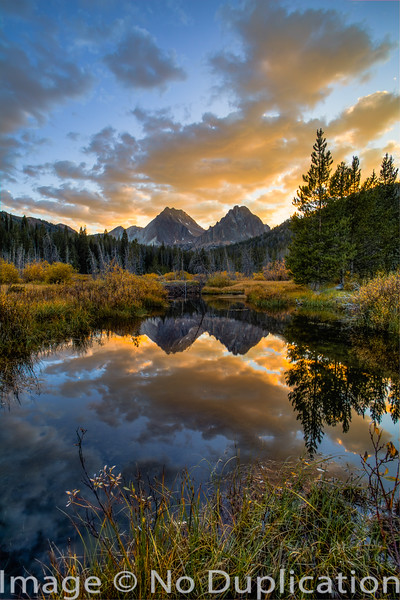Castle Peak Reflection