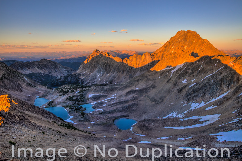 Castle Peak Sunset