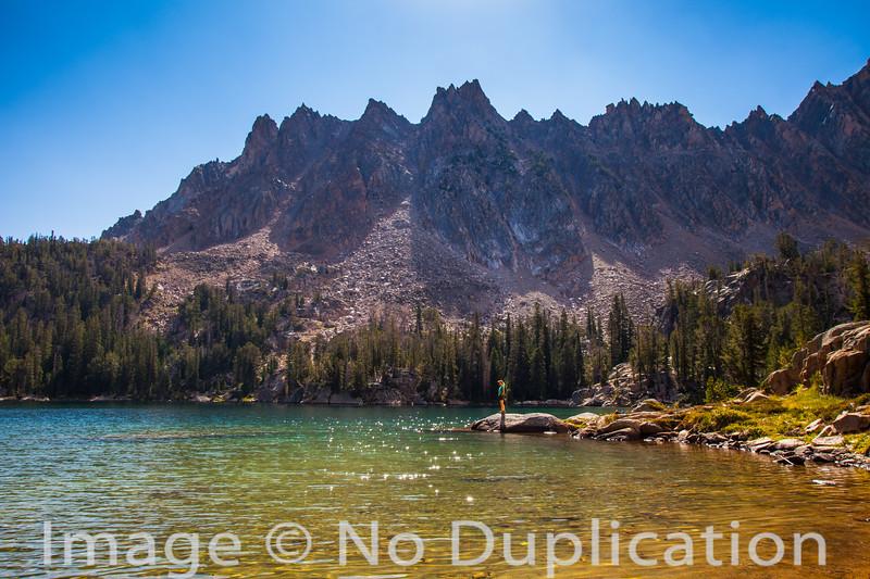 Quiet Lake, White Cloud Mountains, Idaho