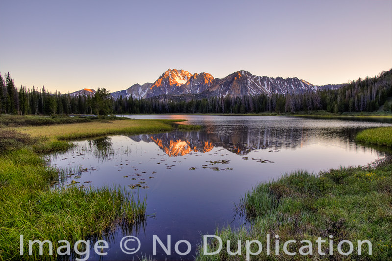 Frog Lake, White Cloud Mountains, Idaho