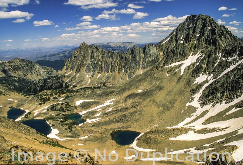 Castle Peak, White Cloud Mountains, idaho