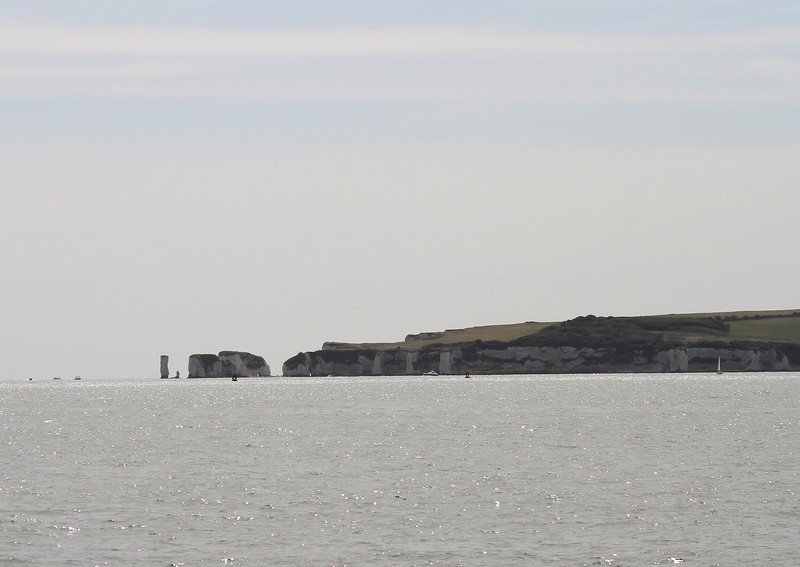 Out of the Harbour and The Old Harry Rocks are a feature.