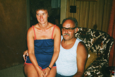 Mom and Dad in Maryville, TN 1980