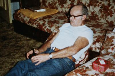 Dad Christmas 1982.