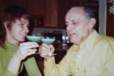 Mom and Dad New Years Eve 1975