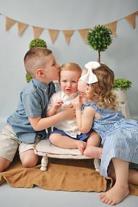 Brady, Margaret, & Jack