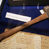 John Brady's axe.  These items are on display at the Muncy Historical Society.
