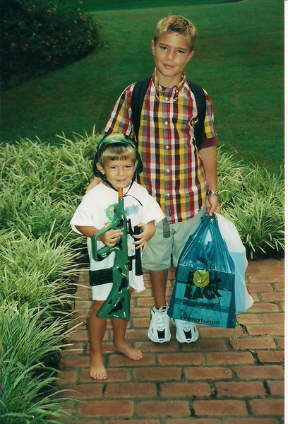 2002 Brandon going to school and MB 001