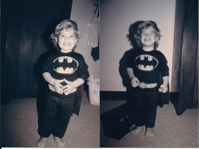 1993 Brandon loved his batman pjs 001