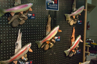 The Rainbow Trout Wall