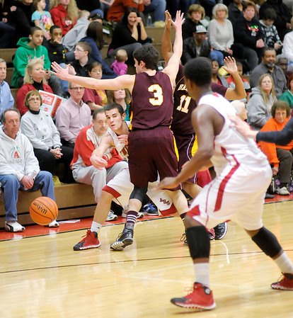 Don Knight / The Herald Bulletin<br /> Anderson hosted Brebeuf on Tuesday.