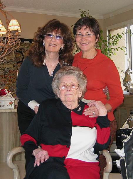 Mama, Judy, Arlene
