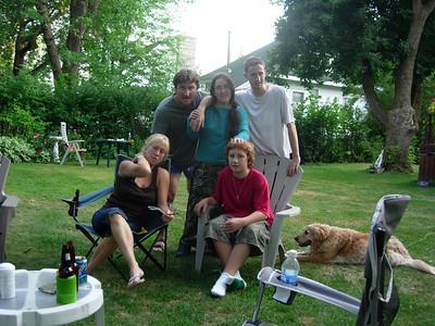 Brenda Beauvais`s Visit August 2007
