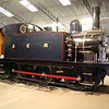 0-6-0ST GER No87 at Bressingham Steam Museum.