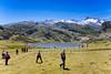 CO10 <br /> <br /> Choice  8 of 12<br /> <br /> Lago Ercina: Wanderer am See inmitten der Berglandschaft der Picos de Europa, Spanien Norden (Newscom TagID: dpacreative045743) [Photo via Newscom]