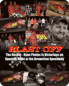 The Brewerton Speedway opens the 2012 racing season with Big Block Modifieds, IMCA Modifieds, ESDCA Mod Lites and the 4 Cylinder Super Stocks...  www.brewertonspeedway.com
