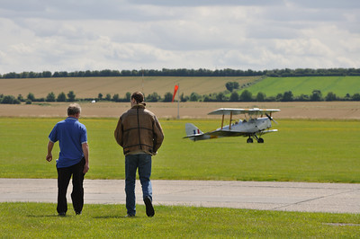 A fine flying day at Duxford
