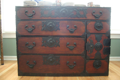 Tansu chests are available