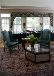 Pair of 60's Ethan Allen chairs:   $295
