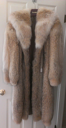 Gorgeous fur coat:  $395