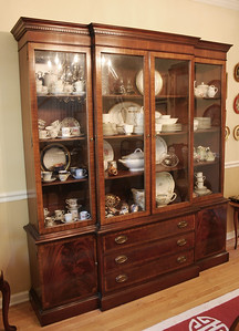 Hickory Chair grand china cabinet: $995