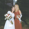 My cousin Madeleine and I at her wedding