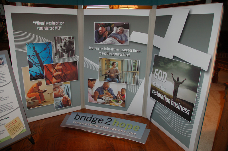 David's beautiful display for 2013 WEAG Missions convention - Thanks to Tom Bond's excellent work