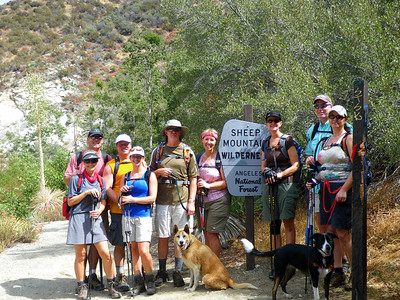 Labor Day Weekend 2011: Medina Family Annual Pig Roast & Group Hike to Bridge to Nowhere, East Fork San Gabriel River Canyon, Azusa CA
