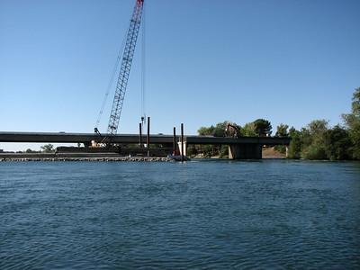 Dana to Downtown Bridge work