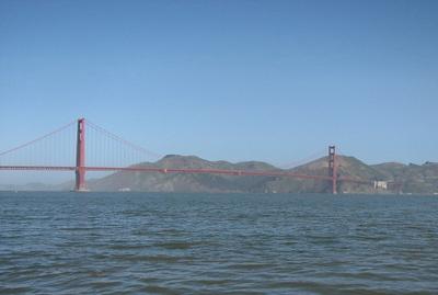 Golden Gate Bridge, San Francisco Bay, CA