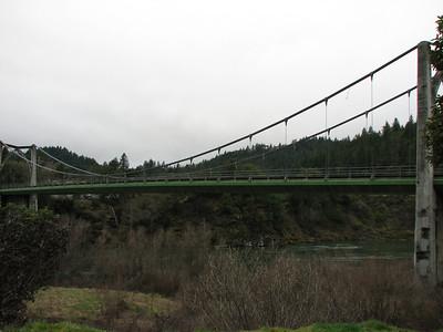 Orleans Bridge over Klamath River