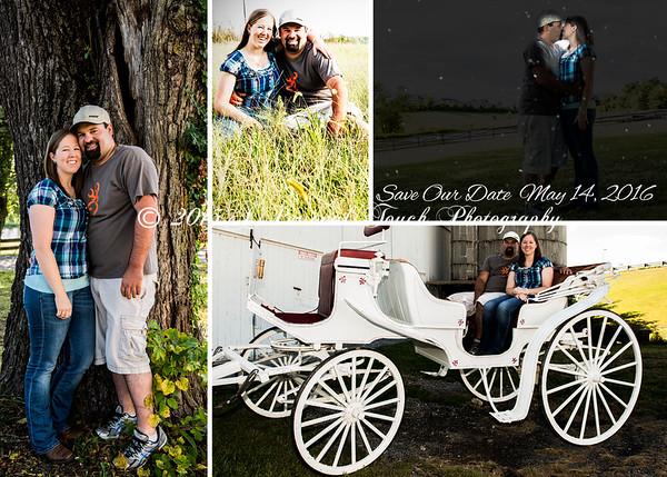 Bridget and Steve's engagement pictures