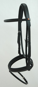Albion KB Snaffle bridle.