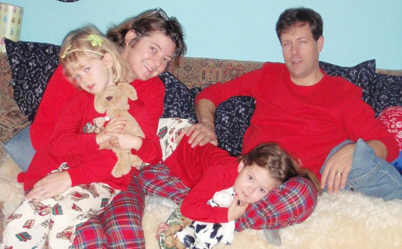 Rubensteins: Lucy, Elizabeth, Norabelle, Bryan