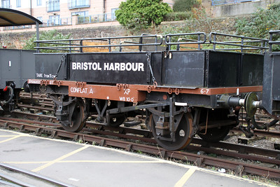 Conflat B506002 at the Bristol Harbour Railway Museum 04/12/11
