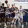 1/20/2017 Mike Orazzi | Staff<br /> Bristol Eastern's Tyler Mason (3) and Bristol Central's Isaiah Miller (22) during Friday night's game with Bristol Central at BE.