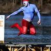 1/21/2017 Mike Orazzi | Staff<br /> Daniel Forgione during the 12th Annual YMCA Sloper Plunge held at  YMCA Camp Sloper in Southington Saturday. The event raises money for camp scholarships.
