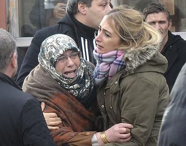 APTOPIX Turkey Attack