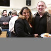 1/20/2017 Mike Orazzi | Staff<br /> Jodi Zils Gagne and Steve Gagne during the Bristol Does unity in the community held at the  T Salon Hair & Nails on Main Street in Bristol Friday evening.