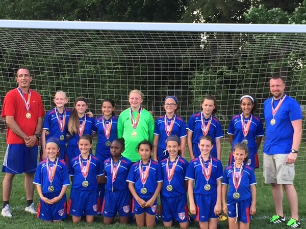Bristol Soccer Club Travel U12 Girls Thunder