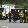 9/20/2017 Mike Orazzi | Staff<br /> The scene of a hazardous chemical leak in the parking lot the Price Chopper grocery store in Southington Wednesday morning. Multiple area fire departments responded to Southington for mutual aid because of a house fire that occurred around the same time.