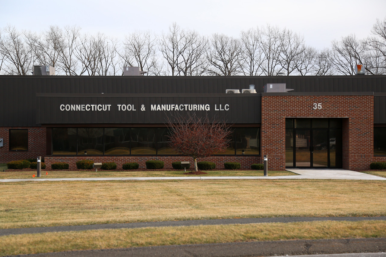 1/20/16 Amelia Parlier | Staff Connecticut Tools and Manufacturing LLC in Plainville on Wednesday afternoon.