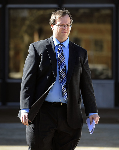2/20/2015 Mike Orazzi | Staff David Bertnagel, Plymouth's former finance director, has pleaded guilty in federal court today to one count each of felony theft and filing a false tax return.