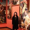 12/22/15 Amelia Parlier | Staff<br /> Min Jung Kim in the NBMAA on Tuesday. Kim is the new director of the New Britain Museum of American Art.