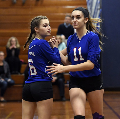 St. Paul's Grace Carabetta and Olivia Genovese 10-18
